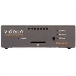 Nomad announces integration with Videon's EdgeCaster Live Streaming Encoder